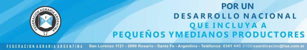 Resultado de imagen para FEDERACIÓN AGRARIA ARGENTINA